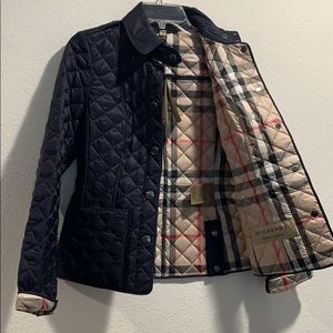 NWT Burberry Kencott quilted jacket